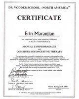 Erin Maranjian's Training and Certifications